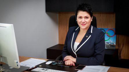 LTOK prezidentės D. Gudzinevičiūtės laiškas Lietuvos sporto bendruomenei