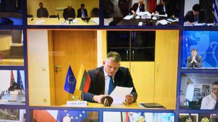 ES žemės ūkio ministrai kartu ieško sprendimų, kaip padėti žemės ūkio ir žuvininkystės sektoriams