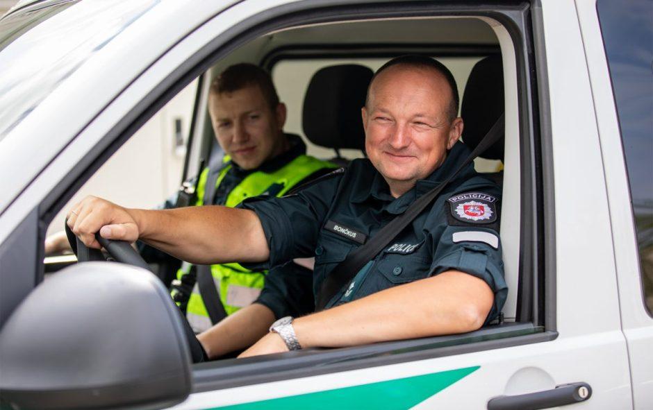 Padėka Palangos policijos pareigūnams