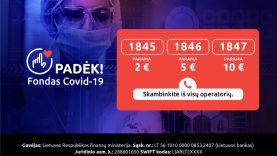 COVID-19 fondas: aukoti gali kiekvienas, jėgas vienija ir visuomenininkai