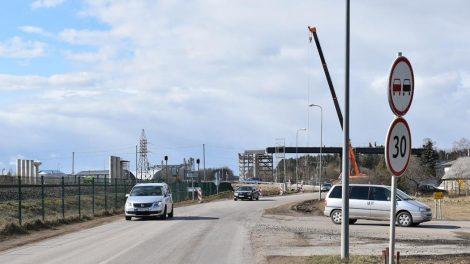 Viaduko statyba tęsiasi – laikinai keisis eismas