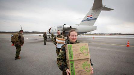 NATO bataliono karo medikams - įrangos ir personalo pastiprinimas