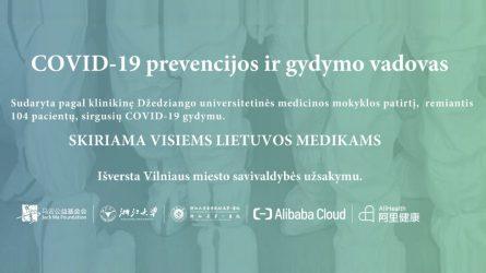 COVID-19 prevencijos ir gydymo vadovas