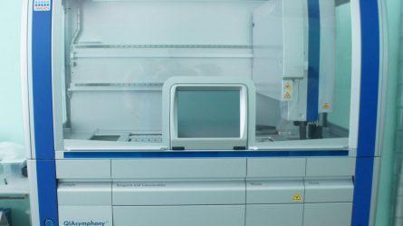 Ligoninė įsigijo naują coronaviruso tyrimo aparatą