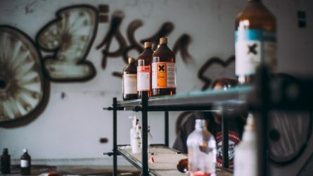 Padaugėjo apsinuodijimų dezinfekciniais skysčiais