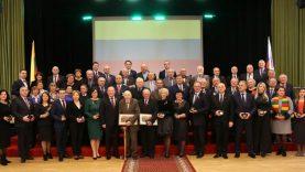 Kauno rajono vadovai pagerbė ir nepriklausomos savivaldos kūrėjus