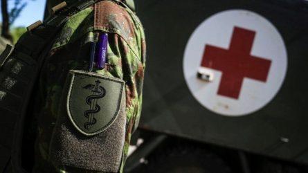Patvirtinus COVID-19 kariuomenės dalinyje Rukloje, visi galimai turėję kontaktus, izoliuoti
