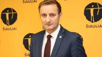 Šiaulių meras sveikatos apsaugos ministrui: gal jau laikas privalomam laiptinių dezinfekavimui?