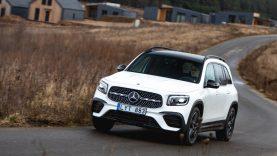 """Praktiškas visureigis """"Mercedes-Benz GLB"""" – jau Lietuvoje"""