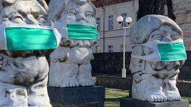 Akcija Šiaulių mieste: apsaugokime save ir kitus