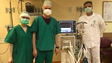 Respublikinėje Šiaulių ligoninėje – trys nauji plaučių ventiliacijos aparatai