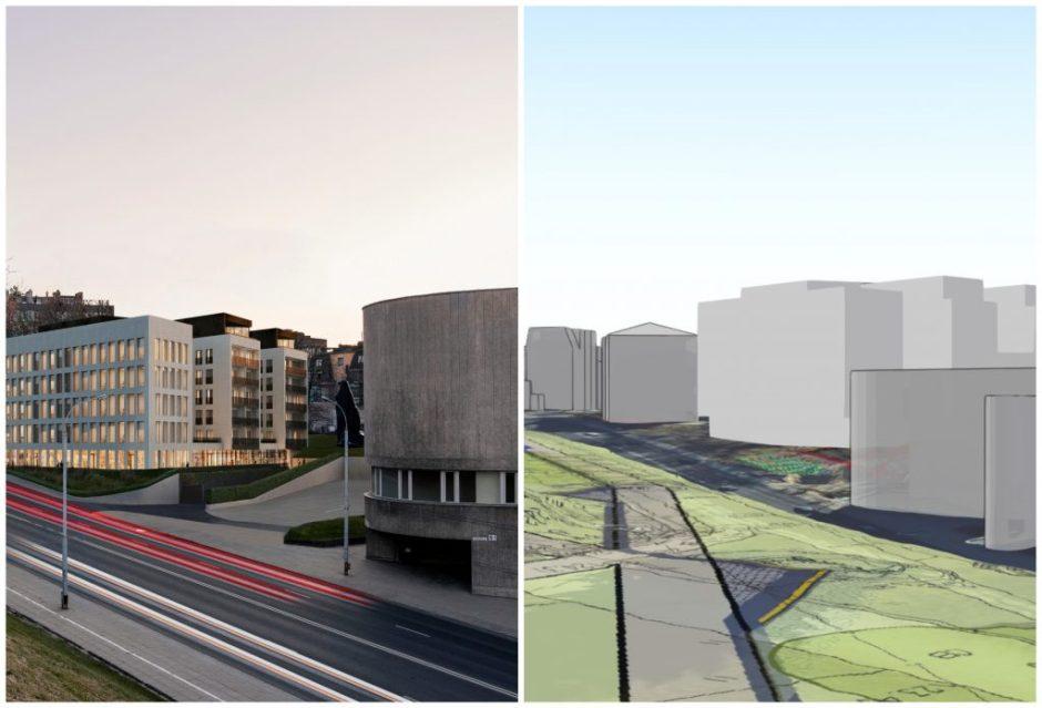 Pastato Naujamiestyje architektams teks koreguoti projektą: mažinti aukštį ir užstatymo intensyvumą