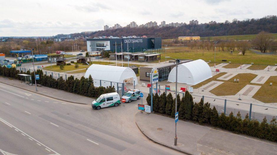 Kaunas dvigubina koronaviruso tyrimų apimtis: iki 800 per savaitgalį