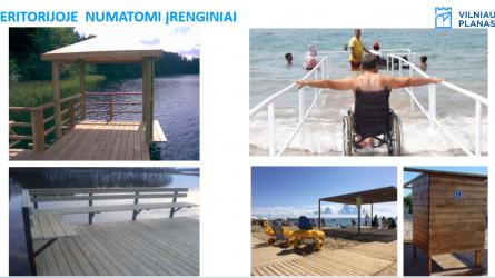 Gilužio ežero prieigos taps patrauklesnės ir patogesnės gyventojų poilsiui