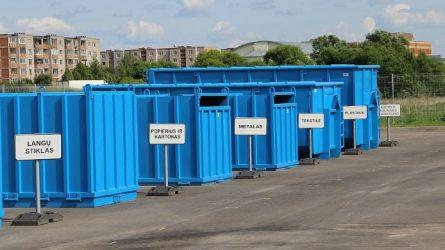 Didelio gabarito ir žaliųjų atliekų tvarkymas karantino metu