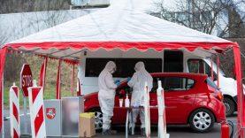 Pakartotiniai tyrimai dėl koronaviruso atliekami mobiliuose punktuose