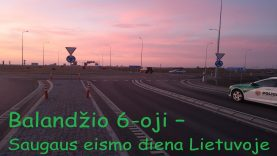 Saugaus eismo diena Lietuvoje