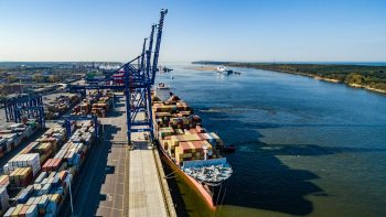 Šiaurės investicijų bankas finansuoja Klaipėdos jūrų uosto plėtrą