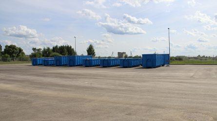 Didelio gabarito atliekų aikštelių ir priėmimo punktų veikla atnaujinta