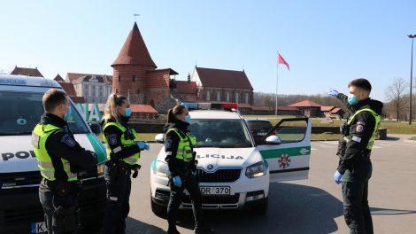 Kauno apskrities gyventojai taip pat pradeda mokėti baudas už karantino režimo nesilaikymą