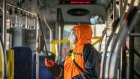Balandžio 7 d. popietę vykusiems 1G maršruto autobusais ir 6 maršruto troleibusais rekomenduojama saviizoliacija