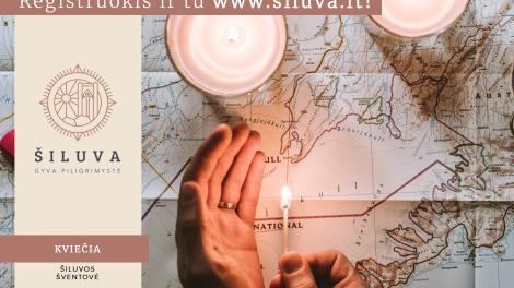"""Vis daugiau švieselių įsižiebia Šiluvos maldos ir paramos akcijoje """"Šviesos žemėlapis"""""""