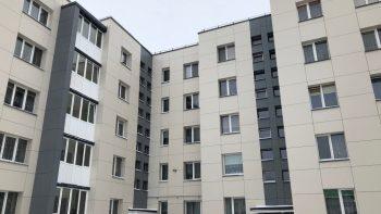 Keturiems Vilkaviškio daugiabučiams namams pradedami atnaujinimo (modernizavimo) darbai