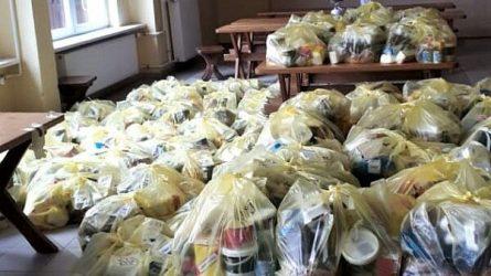 Skuodo rajono mokyklose jau dalinami maisto daviniai gaunantiems nemokamą maitinimą
