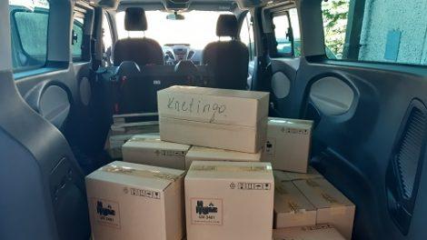 Kretingos rajono savivaldybę jau pasiekė 380 planšetinių kompiuterių