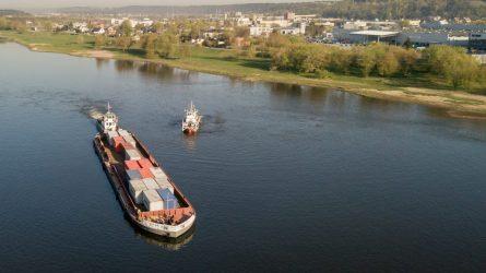 Vidaus vandenų keliuose prasidėjo laivybos sezonas