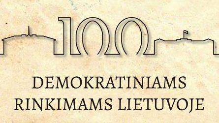 Balandžio 14–ąją Lietuva mini pirmųjų demokratinių rinkimų šimtmetį