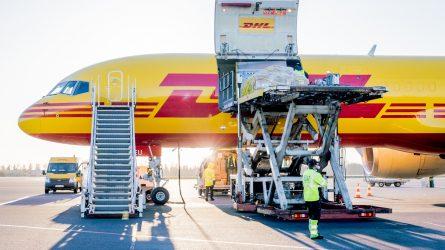 Gabenamų krovinių kiekis pirmą metų ketvirtį Lietuvos oro uostuose šoktelėjo aukštyn