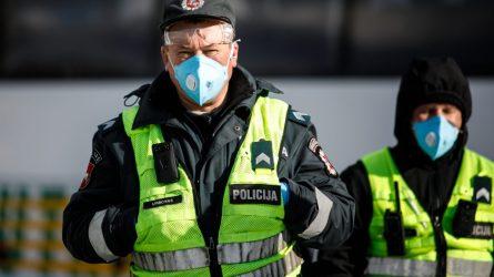 Pareigūnų apsaugos priemonėms ir įrangai įsigyti skirta1,7 mln. eurų