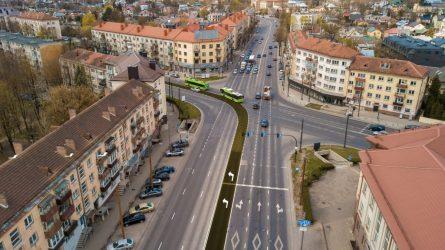 Ilgiausioje Kauno gatvėje – pokyčių metas: patogesnis eismas ir svarbi rekonstrukcija