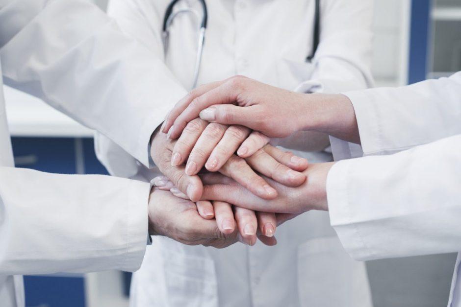 Deklaracija: medikų saugumas – prioritetas kovoje su pandemija
