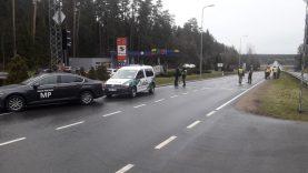 Nuo ketvirtadienio ryto uždarytas Nemenčinės miestas