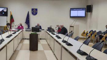 Tarybos posėdyje – sprendimai dėl ekstremalios situacijos