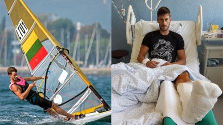 Vandens sportas ir traumos: baidarininko, burlentininko ir buriuotojos istorijos