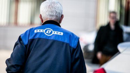 Registruojant automobilį paaiškėjo, kad jis pavogtas Danijoje