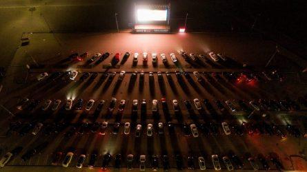 """""""Žmonės Cinema drive-in"""" kinas atvyksta į Kauną"""