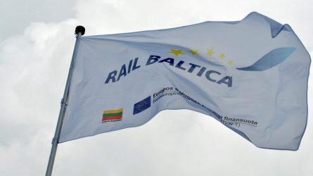 """Baltijos šalių transporto ministrai aptarė projekto """"Rail Baltica"""" įgyvendinimą"""