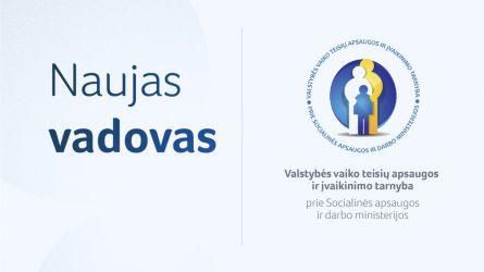 Valstybės vaiko teisių apsaugos ir įvaikinimo tarnyba turės naują vadovę