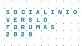 Kviečiame dalyvauti Socialinio verslo forume