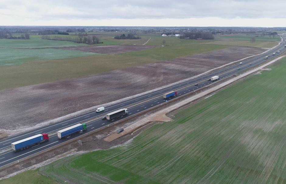 """""""Via Baltica"""" magistralėje siekiant aukščiausių standartų bus tobulinamas ruožas Kauno rajone"""
