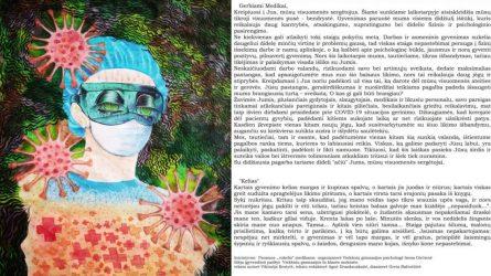 Emocinės paramos laiškai medikams