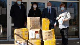 Rajoną pasiekė  30 tūkstančių apsauginių kaukių siunta iš Kinijos