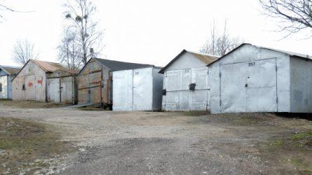 Laikinųjų metalinių garažų Kalniškės g. savininkų dėmesiui