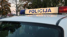 Policijos pareigūnai įžeidimų netoleruos
