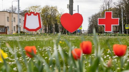 Vilniussveikina ir palaikoMedicinos darbuotojus
