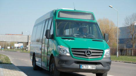 Karantino metu ir toliau tęsiami viešojo transporto ribojimai